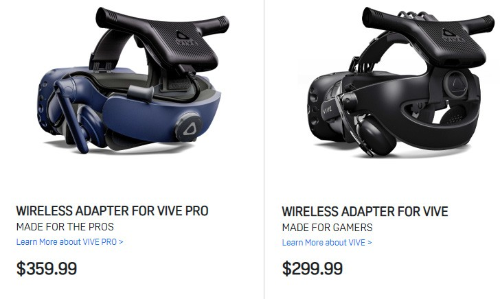 gsmarena 002 - Vive VR wireless adapter now available, supports up to three players