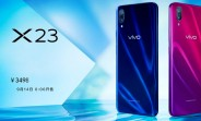 vivo X23 is official with in-display fingerprint scanner and Snapdragon 670