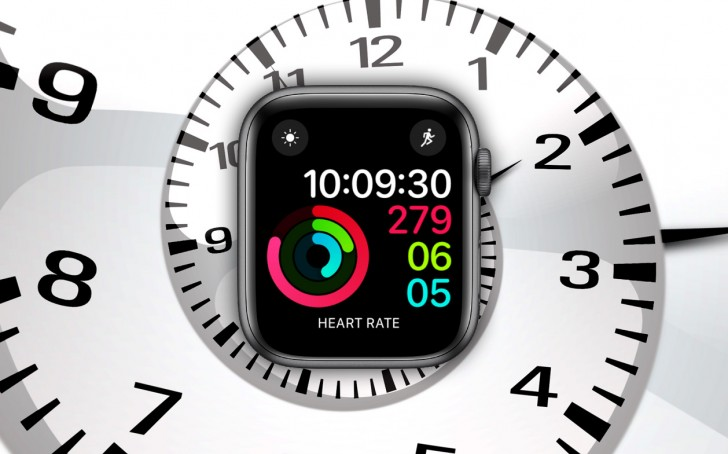 Apple's iWatch has problems with the time