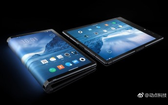 FlexPai is the world's first foldable phone, first with Snapdragon 8150 too