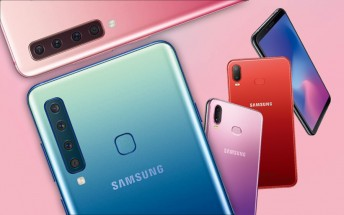 Quad-cam Samsung Galaxy A9s and ODM Galaxy A6s debut