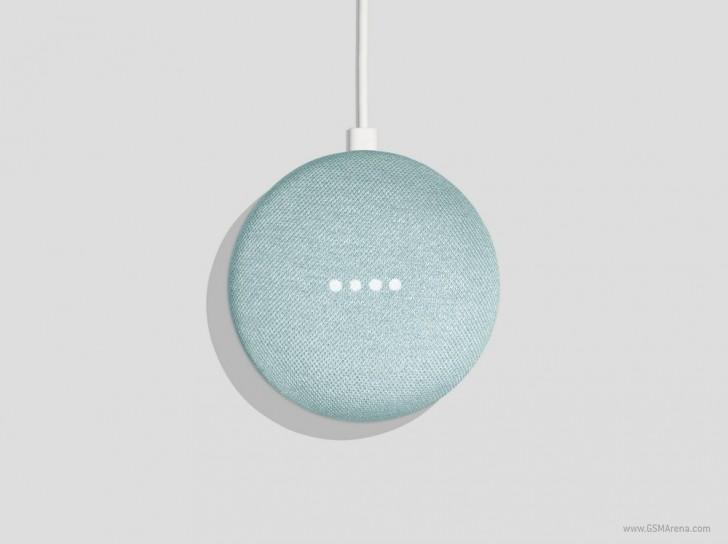 gsmarena 001 - Google Home Mini gets a new Aqua color version
