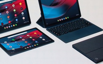 The Pixel Slate Chrome OS tablet can multitask with a keyboard or with a stylus