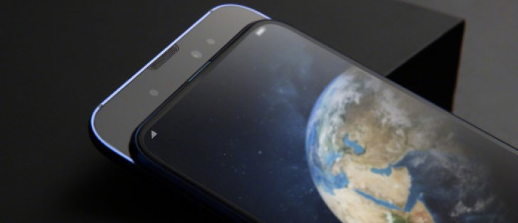 Honor Magic 2 official images show the slider, gradient back, and