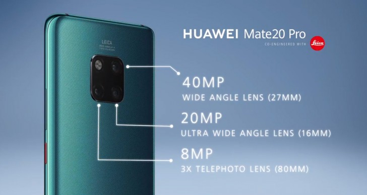 Huawei's Mate 20 Pro and Mate 20 X in 60 seconds