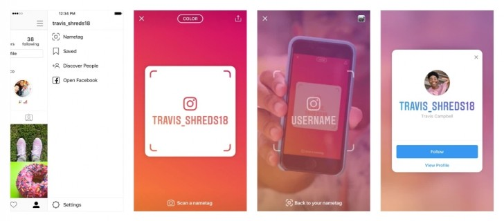 Instagram introduces Nametag, an easy way to add people in real life