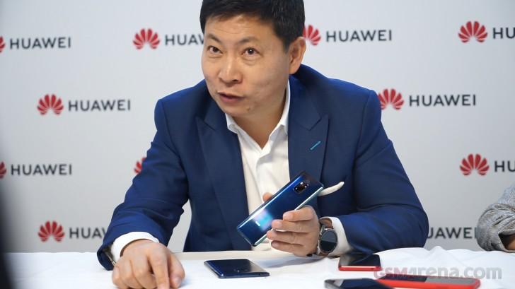 Interview: Huawei CEO, Richard Yu talks Mate 20, Nano Memory cards