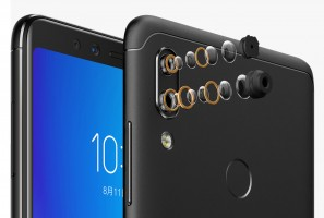 16+5MP dual cameras on the front and back