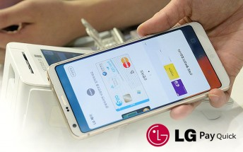 LG Pay Quick trademarked for Europe, USA, South Korea