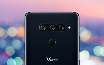 LG V40 ThinQ goes official with regular, ultra wide and telephoto cameras