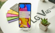 LG opens up pre-orders of the V40 ThinQ in the US earlier than expected