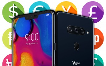 Here's the LG V40 ThinQ price, there are pre-order deals too