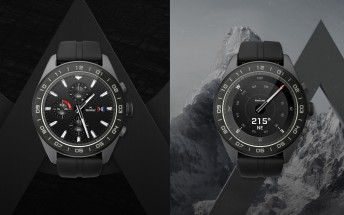 The LG Watch W7 marries Wear OS features to a classic analog watch movement