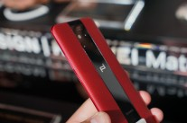 The Mate 20 RS Porsche Design in red