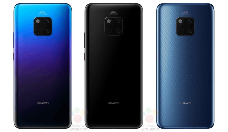 Huawei Mate 20 and Mate 20 Pro prices revealed ahead of launch