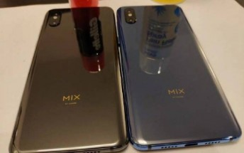 Leaked Mi Mix 3 photos show rear fingerprint reader and dual front cameras