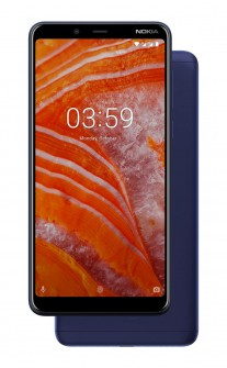 Nokia 3.1 Plus in Blue