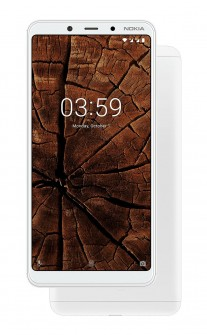 Nokia 3.1 Plus in White
