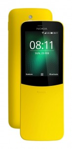 Nokia 8110 4G in Yellow