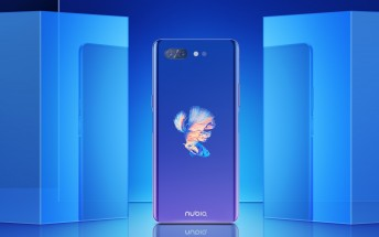 ZTE nubia X unveiled with two screens and two fingerprint readers