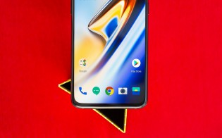OnePlus 6T with new, smaller bezels