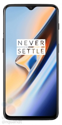 gsmarena 004 - OnePlus 6T press images reveal all about design, waterdrop notch exposed