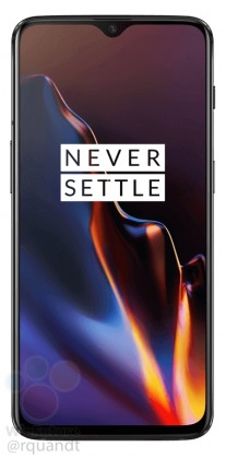 gsmarena 007 - OnePlus 6T press images reveal all about design, waterdrop notch exposed