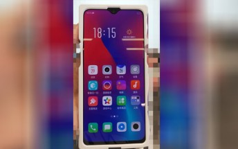 Oppo K1 appears in hands-on image