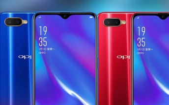 Oppo K1 goes official with in-display fingerprint scanner
