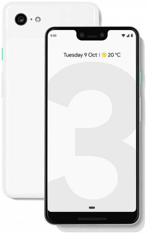 Interestingly Its Just A Giant 3 On White Background That Matches The Phone We Assume There Will Be Different Version For Each Of Three Color