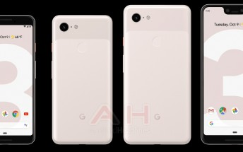 Google Pixel 3 and Pixel 3 XL now leak in