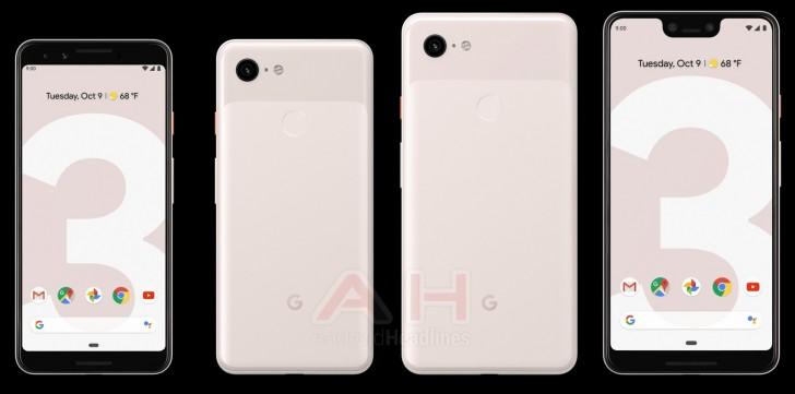"""Google Pixel 3 и 3XL в цветовом решении """"Песок"""""""