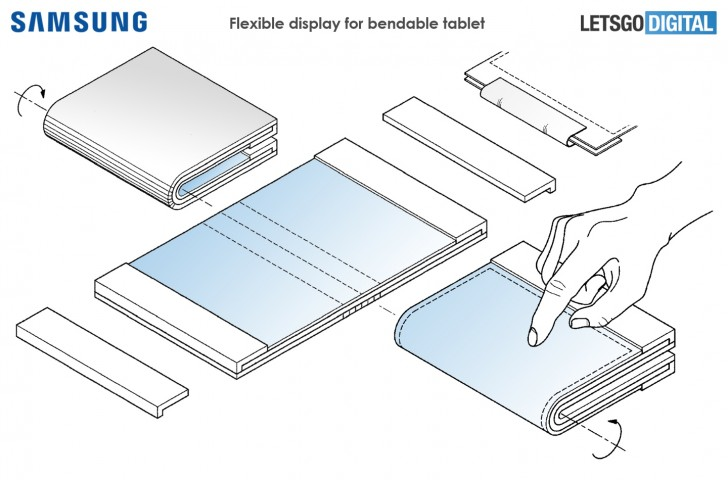 Soon you will see a flexible tablet from SAMSUNG as leak revels