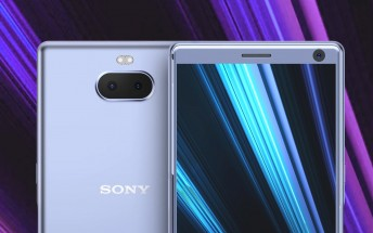 Sony Xperia XA3 renders show dual camera on the back, 3.5mm jack on top