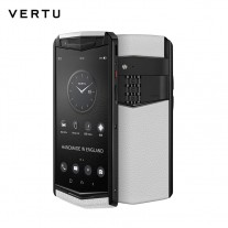 Vertu Aster P in White Moon