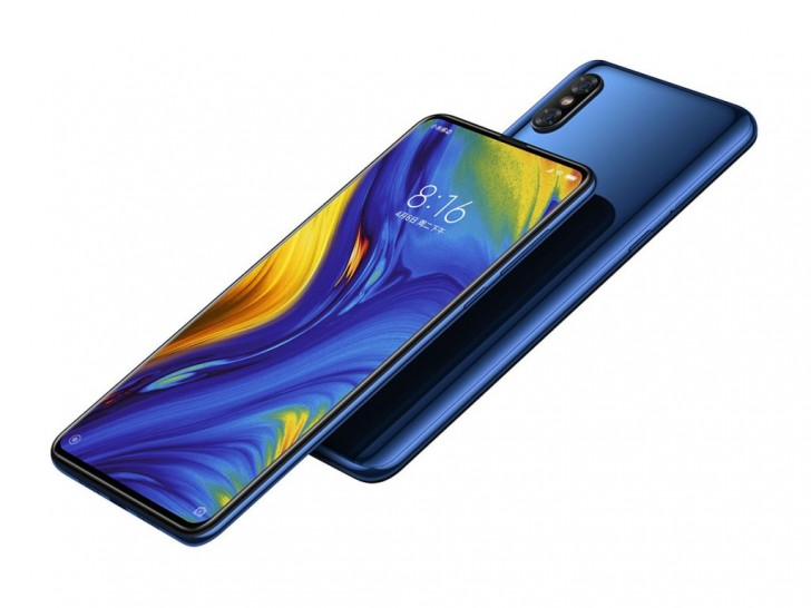 Xiaomi Mi Mix 3 unveiled. Bezelless with a slide-out selfie camera
