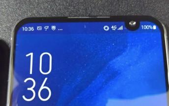 Asus Zenfone 6 prototypes reveal a weird-positioned waterdrop notch