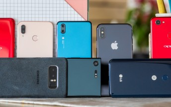 Samsung, Huawei and Apple shipped the most phones in Q3