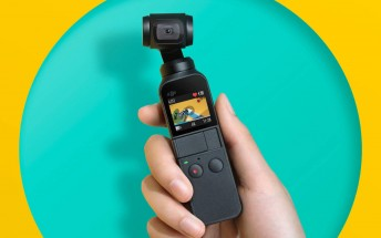 DJI Osmo Pocket is a $349 tiny three-axis stabilized camera