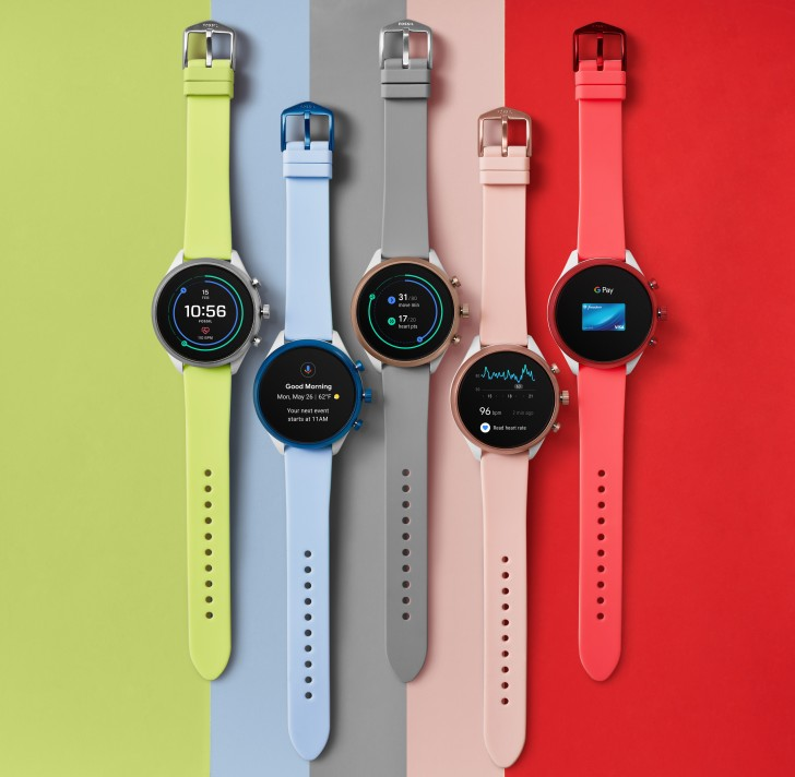 Fossil Sport puts latest Wear 3100 chip in colorful smartwatch