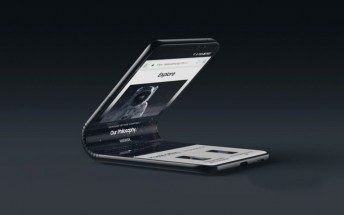 More details about Samsung's foldable Galaxy F smartphone surface