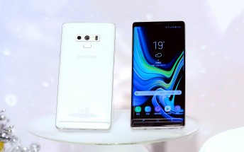 Samsung unveils Galaxy Note9 in First Snow White, coming in early December