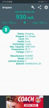 Huawei Mate 20 Pro: charging - GAZEPAD PRO review