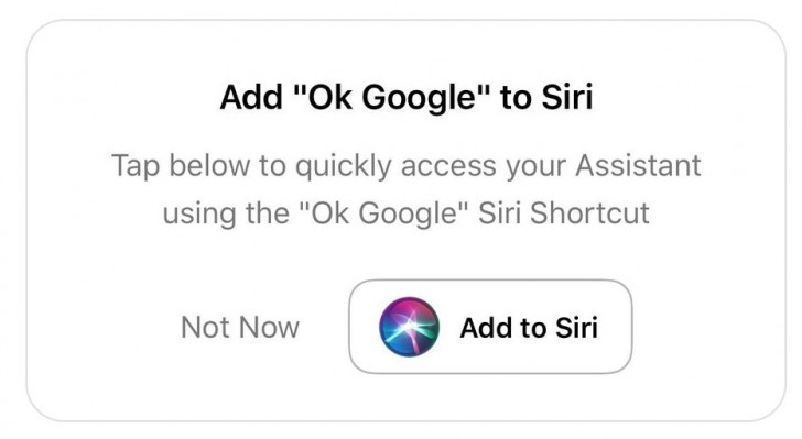 Google Assistant Can Now Be Launched Using Siri Shortcuts