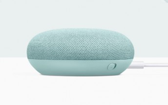 Aqua colored Google Home Mini now available from Google Store