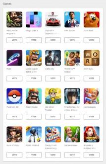 User's choice ballot: Games (NL)