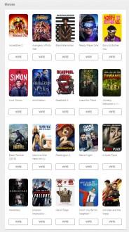 User's choice ballot: Movies (US)