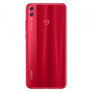 Honor 8X in Red