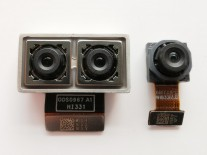 The triple camera has two parts