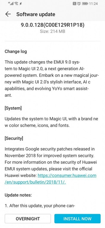 Honor Magic 2 software update switches to Magic UI 2 0 from